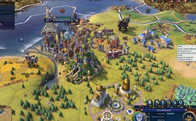Review Civilization Vi Is A Beautiful Prance Through