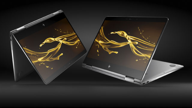 With its 360 degree hinge, the Spectre x360 is more versatile than a traditional laptop.