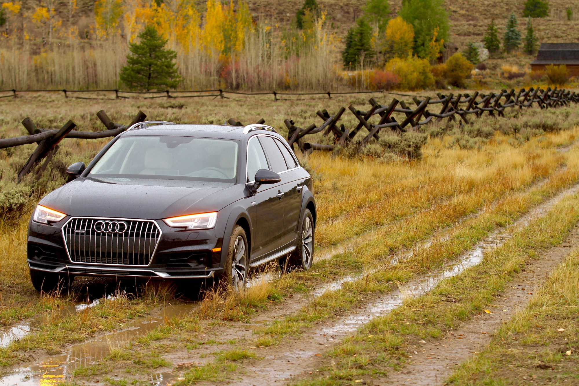 hight resolution of 2017 audi a4 allroad put to use in the real world