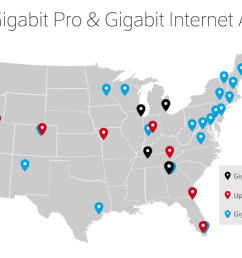 comcast s gigabit cable will be in 15 cities by early 2017 [ 1257 x 724 Pixel ]