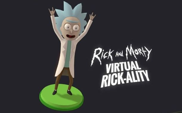 3d Pickle Rick Wallpaper Virtual Rick Ality Proves Why Rick And Morty Is Great And