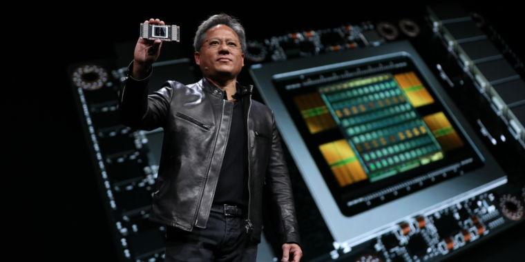 Nvidia Tesla V100 First Volta Gpu Is One Of The Largest