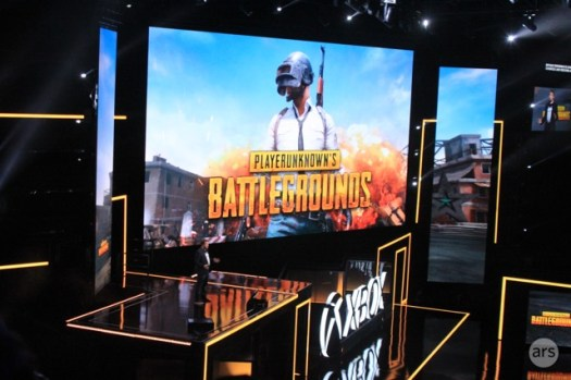 """Playerunknown"" himself takes the Xbox stage."