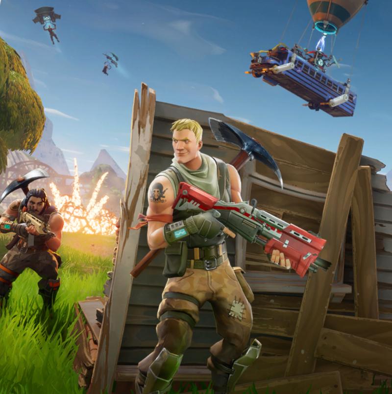 Pubg Parachute Wallpaper Pubg Vs Fortnite A Game Genre Copycat Face Off Heats Up