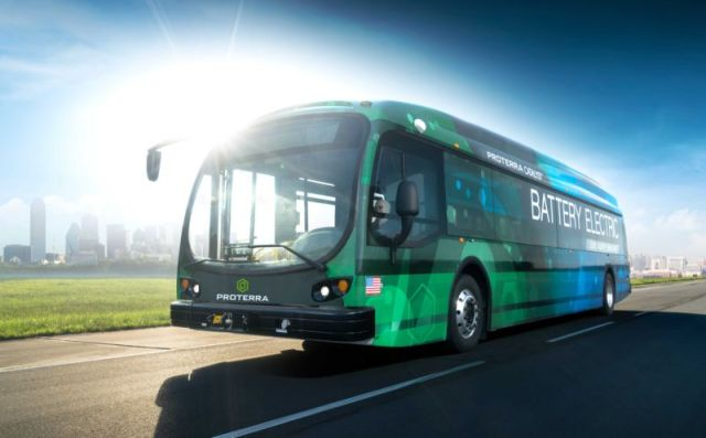 https www.proterra.com wp content uploads 2016 09 1 PROTERRA CATALYST E2 BUS 800x496 Electric Busses are our future   Proterras Catalyst E2 Max ran for 1,100.2 miles on a single charge