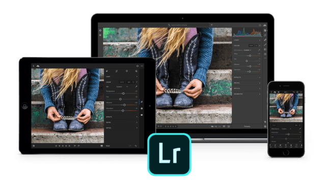 The same editing tools and interface across all your devices.