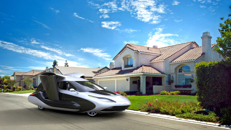 flying car maker terrafugia