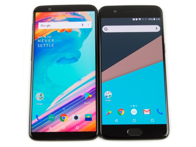 OnePlus 5 and OnePlus 5T brings Android Oreo 8 1 support