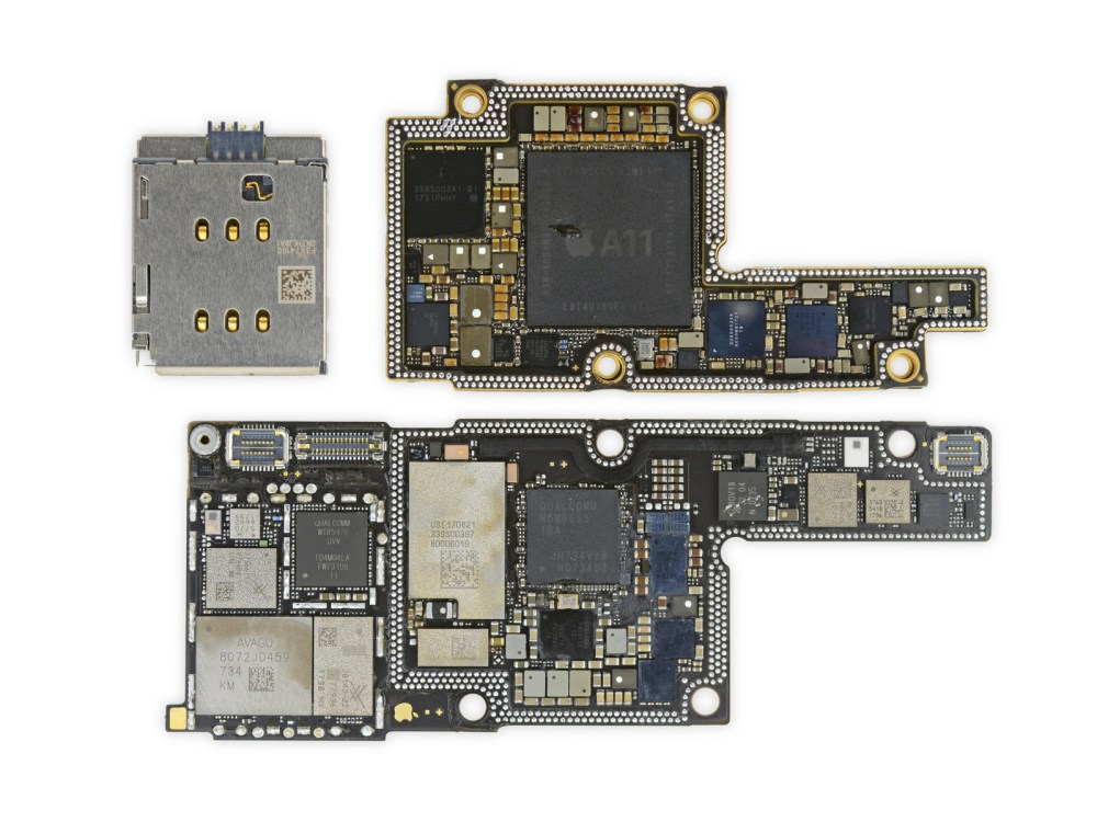 medium resolution of ifixit s iphone x teardown finds two battery cells and an enlarge ipad 2 logic board diagram