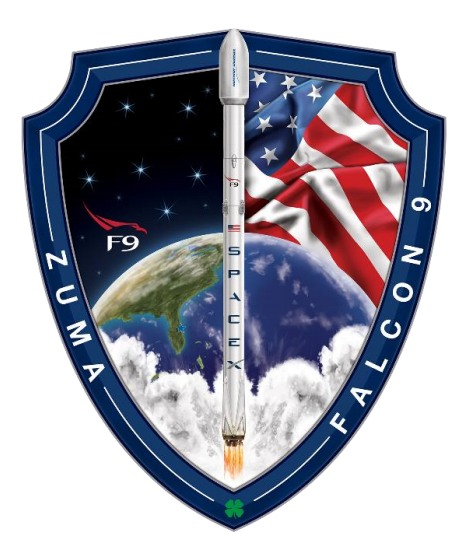 Zuma mission patch.