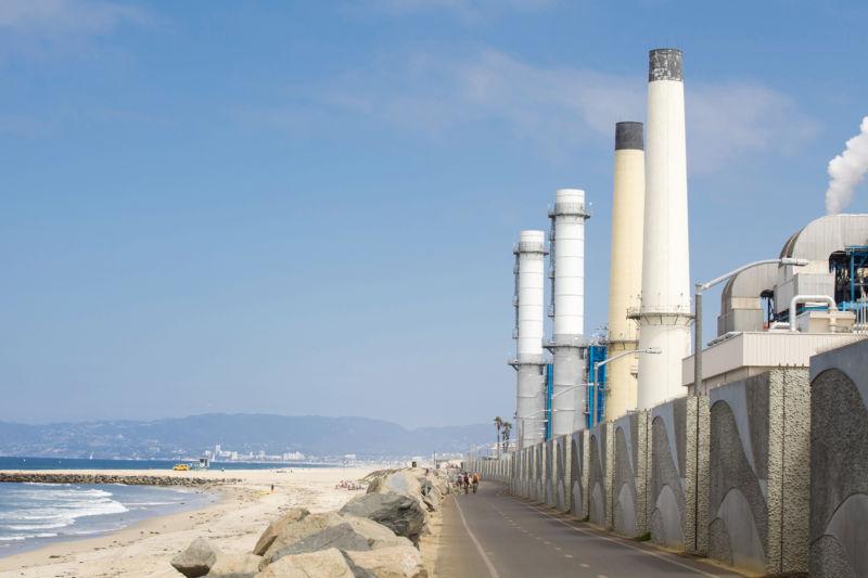 The NRG power plant in El Segundo, California.