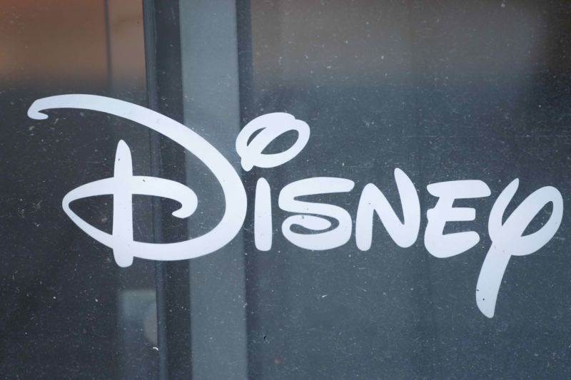 A Disney logo.