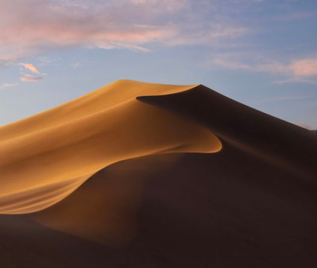 The Dynamic Mojave Wallpaper In Transition