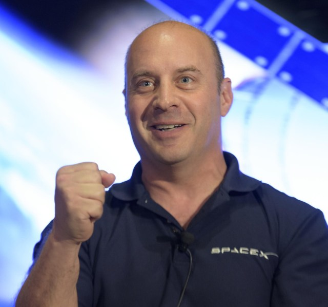 Reisman joined SpaceX in 2011.