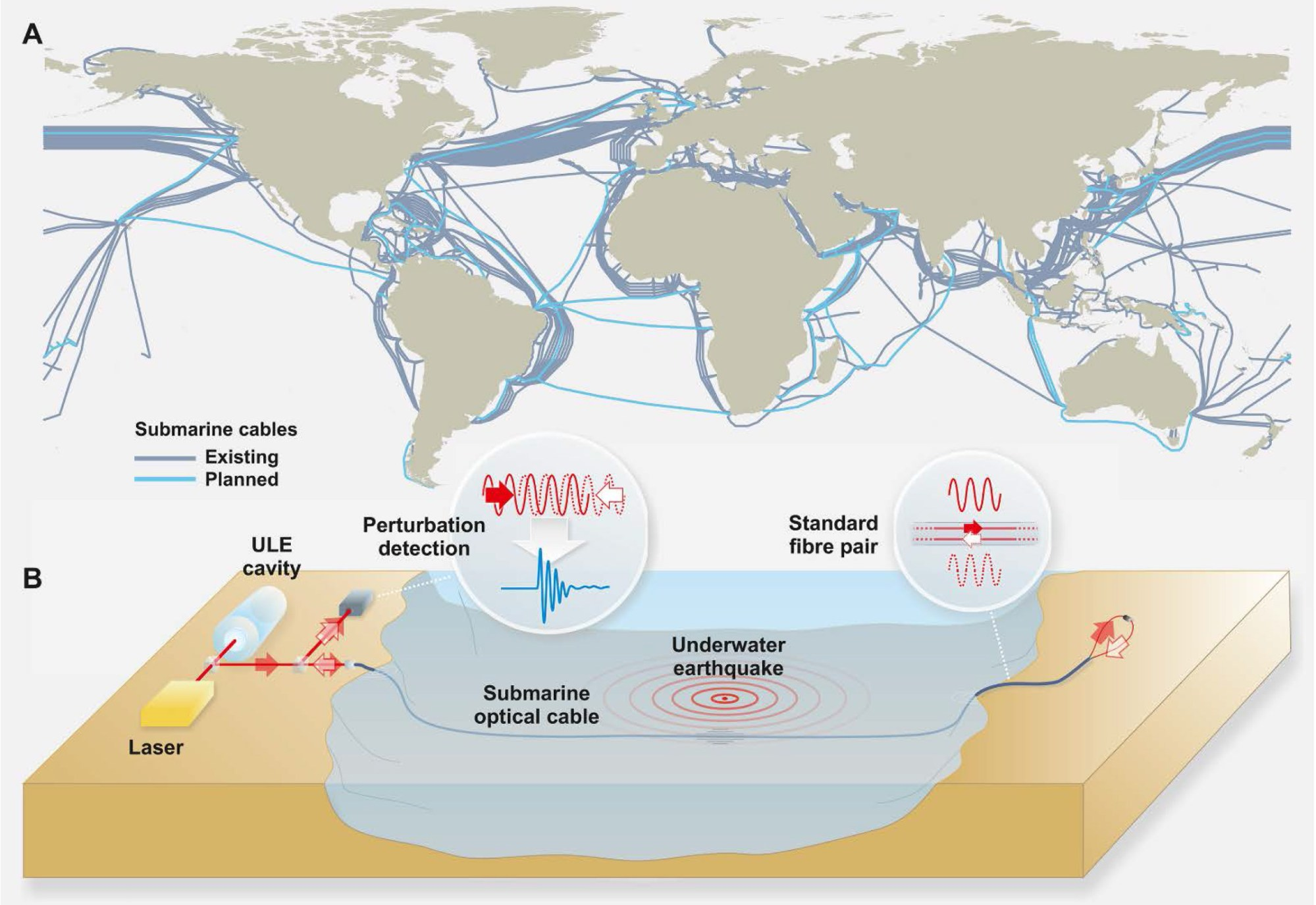 hight resolution of here s the network of seafloor cables that could be used to detect earthquakes