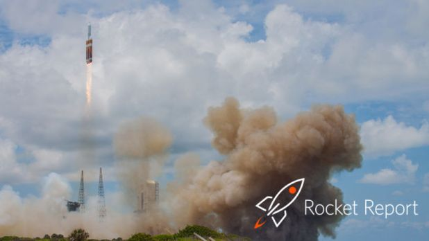 Cartoon rocket superimposed on the real launch of the rocket.
