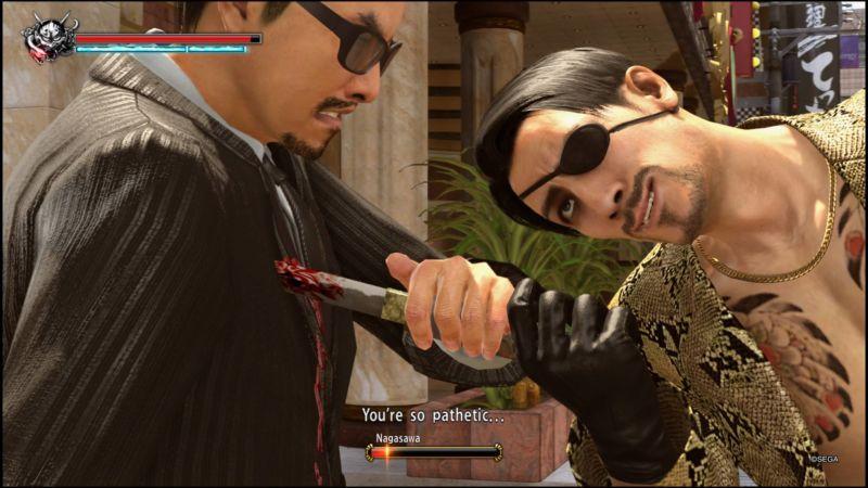 Screenshot from Yakuza Kiwami 2.