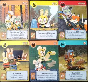 Some of Root's many cards.