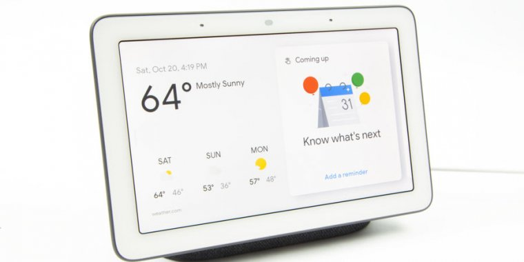 Google Home Hub review—Awesome hardware for Google's