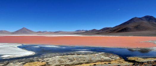 Salt flats in South America