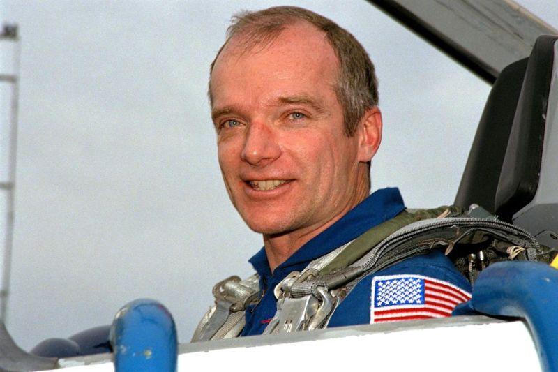 STS-91 Mission Commander Charles J. Precourt now works for Northrop Grumman.