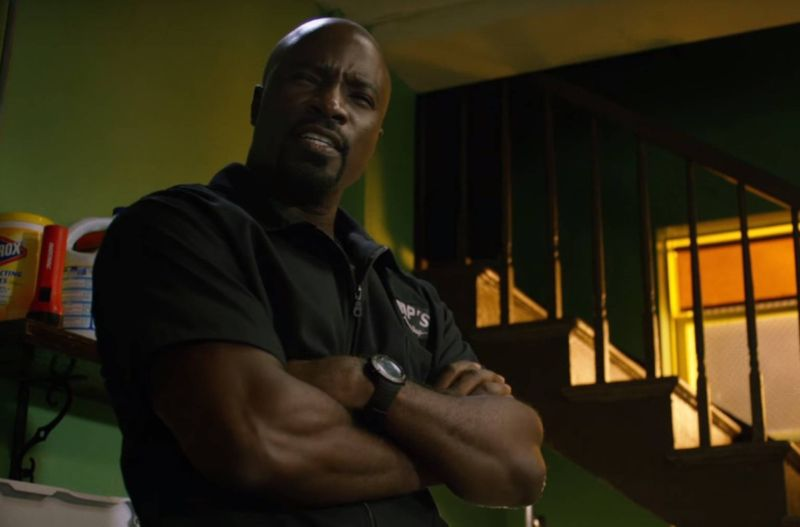 Luke Cage (Mike Colter) will have to put another dollar in the swear jar when he hears the news.