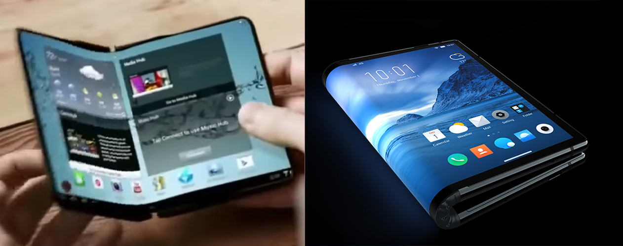 Samsung's Foldable Phone Is Real, And It Launches Next