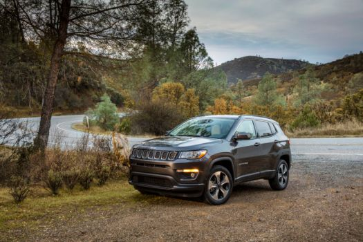 The Jeep Compass Latitude is ready for all of your off-roading needs.