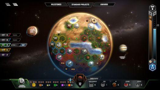 Review: Super-hot board game Terraforming Mars goes digital