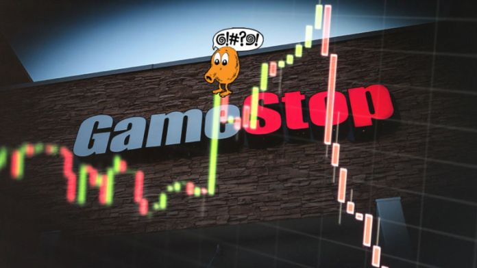 Game retailer GameStop says it can't sell itself, sees stock dive 27%