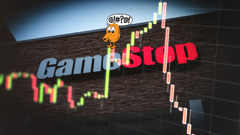 Q-Bert can't tell what the @!#?! is going on with GameStop stock, either...