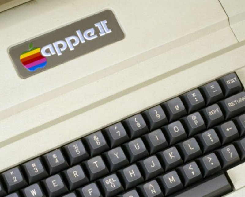 Photograph of a keyboard of a late '80s/early '90s computer.