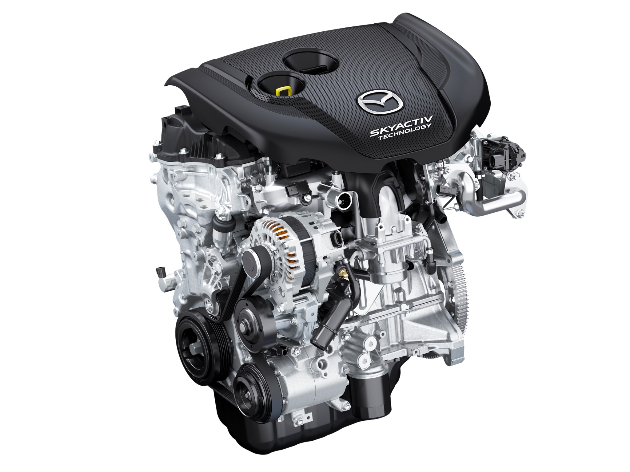This is the 2.2L Skyactiv-D Diesel engine