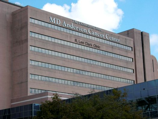 MD Anderson Cancer Center in Houston, Texas.