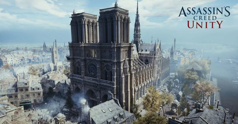 The famous cathedral lives on in interactive digital form.