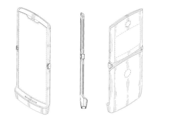 Lenovo's foldable Razr patent.