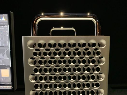 Another view of the Mac Pro