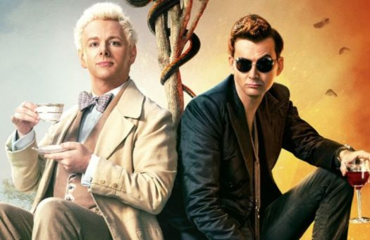 Michael Sheen and David Tennant star in Amazon Prime's TV adaptation of the 1990 novel <em>Good Omens</em>.