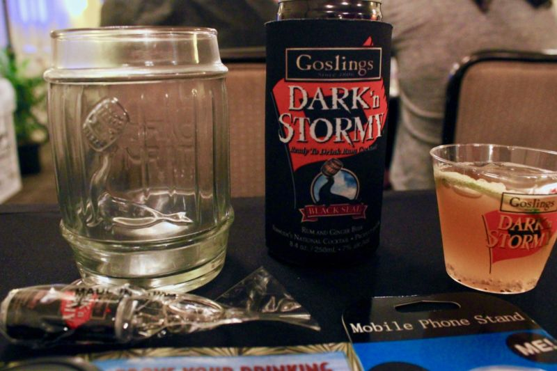 Welcome to the conference, this is the 10am panel. Can we interest you in a Dark 'n' Stormy®?