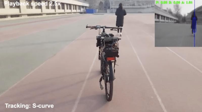 Skynet light? The Tianjin-controlled bike stalks one of its creators.