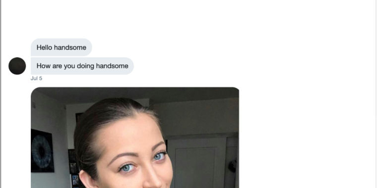 Nigerian scammers slide into DMs, so Ars trolls them
