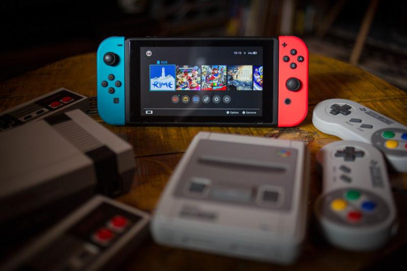 The Nintendo Switch.