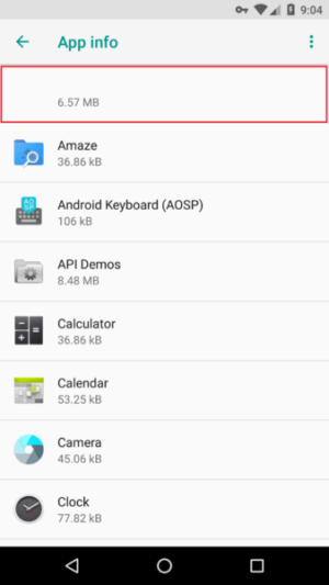 The name of the fake ad blocker is removed from Android's App Info section.