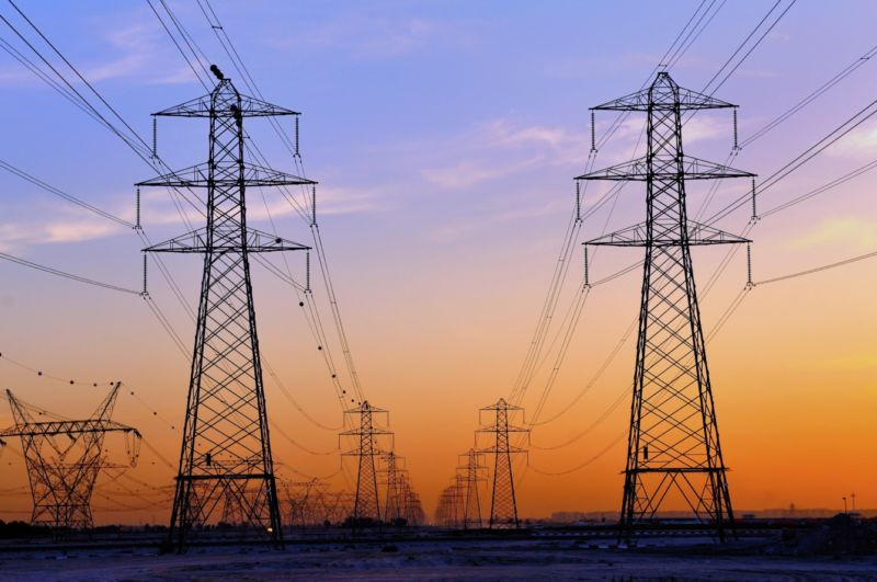We calculated emissions due to electricity loss on the power grid