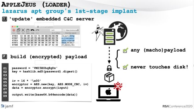 Using a hex editor to identify (and later change) the control server hard-coded into the malware.