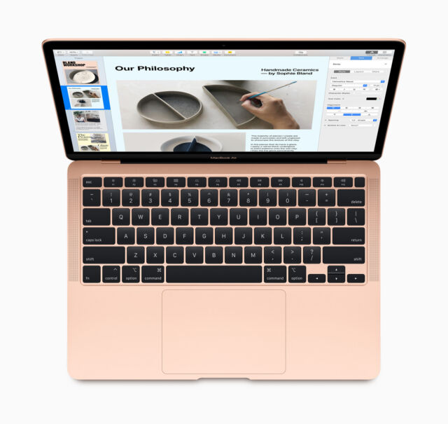 "Apple's-brand new MacBook Air ditches the controversial ""butterfly"" keyboard and is already $50 off."