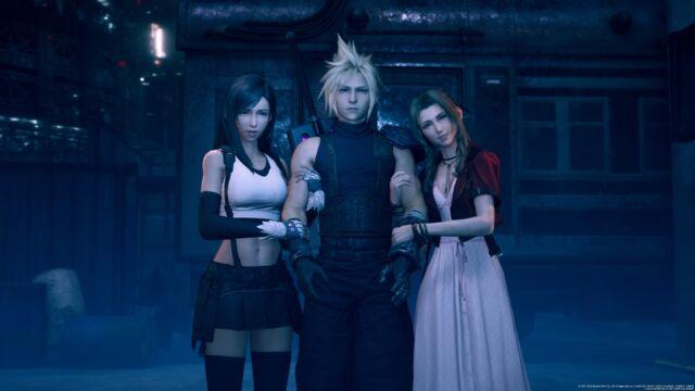<em>Final Fantasy VII Remake</em>.