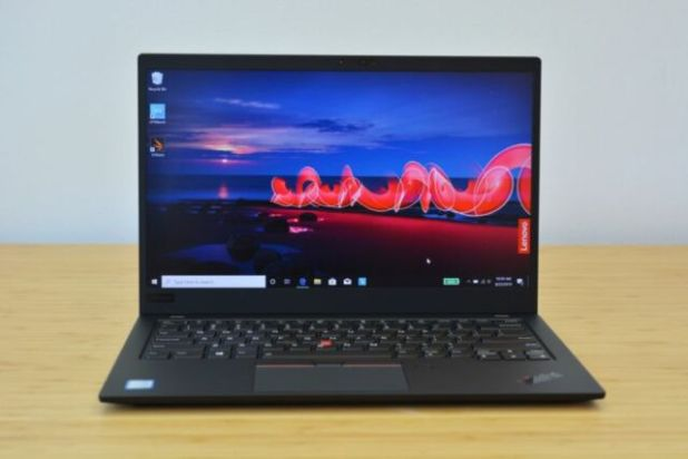 Lenovo's ThinkPad X1 Carbon Ultrabook.  It is not the latest model, but it is good at today's deal price.