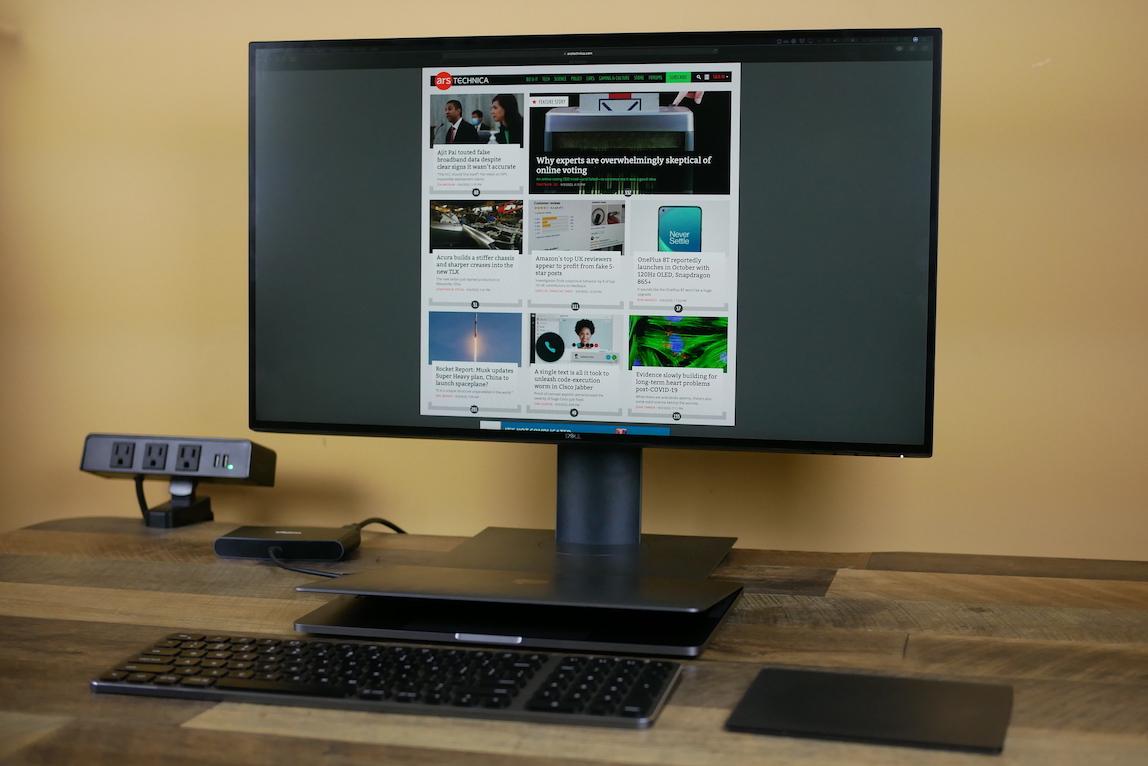 Dell's 27-inch 4K monitor.