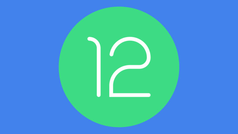 The Android 12 logo.